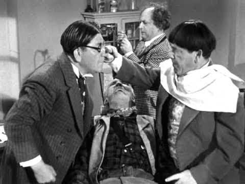 The Three Stooges 134 The Tooth Will Out 1951 Shemp, Larry, Moe