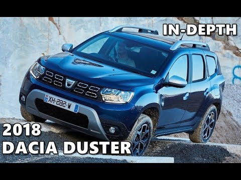 dacia duster 2018 test drive off road exterior interior. Black Bedroom Furniture Sets. Home Design Ideas