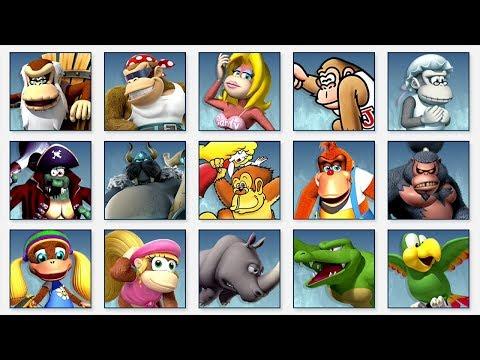 Super Smash Bros. Ultimate - All Donkey Kong Spirit Battles thumbnail
