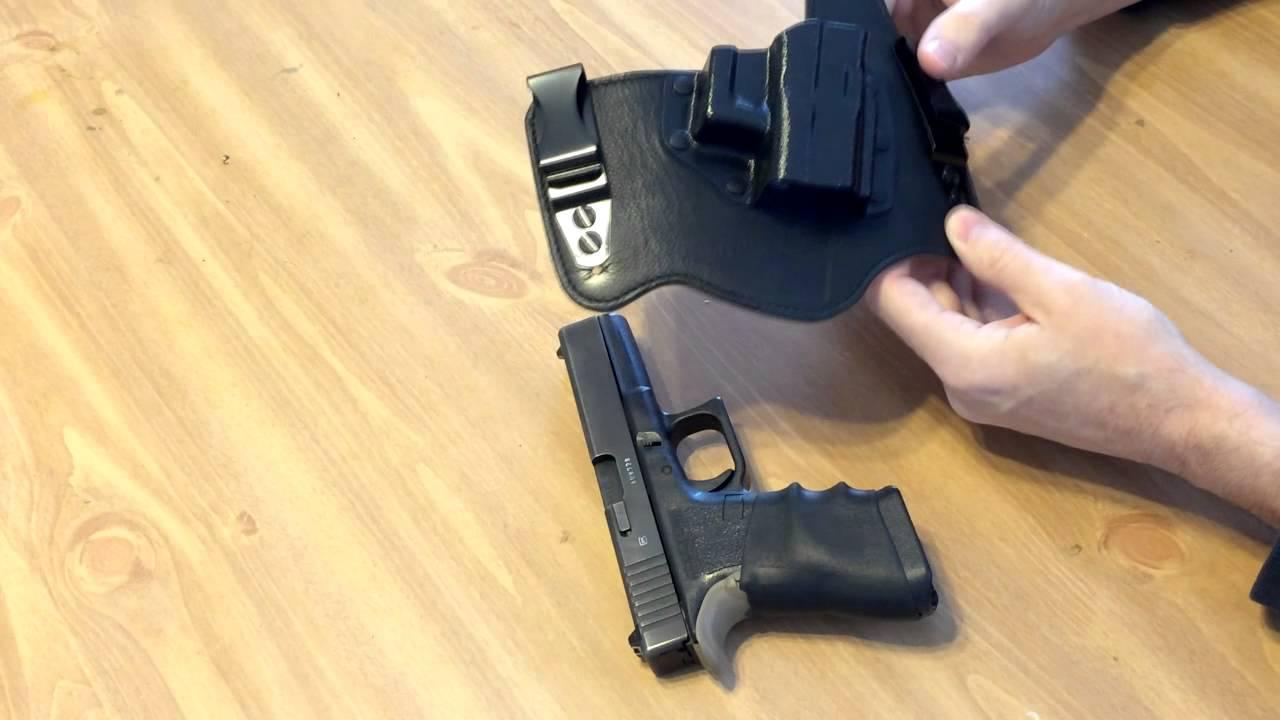 galco king tuk tuckable iwb holster for glock 17