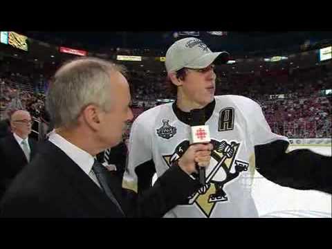 2009 Stanley Cup Final: CBC Malkin Interview