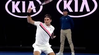 Roger Federer vs Richard Gasquet R3 AO2018 [HIGHLIGHTS]