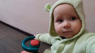Видео для детей Детская машинка каталка-толокар музыкальная Car for kid's