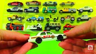 👍 Машинки Cars. Маленькие машинки. Полицейская машина и др. Развивающий мультики про машинки(Новый развивающий мультики про машинки на канале Машинки Cars. Эти машинки для детей. Новый набор из 20 машинок..., 2016-03-07T12:59:39.000Z)