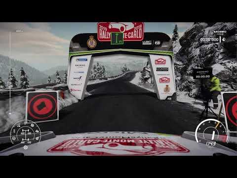 WRC8[Gameplay] Rallye Monte-Carlo - Luceram reverse |