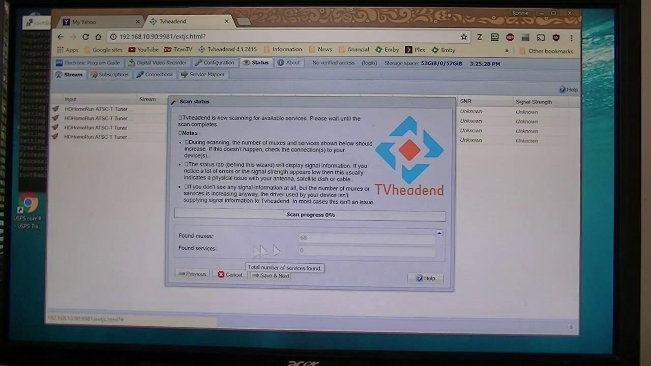 Install Tvheadend Debian 9