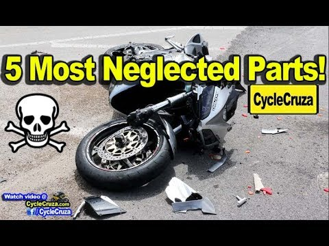 5 Most Neglected Motorcycle Parts   MotoVlog
