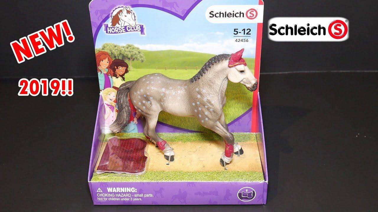 Schleich Horse Club Trakehner Mare Riding Tournament Set