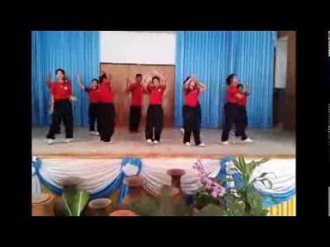 เต้นประกอบเพลง ผู้หญิงลั้นลา