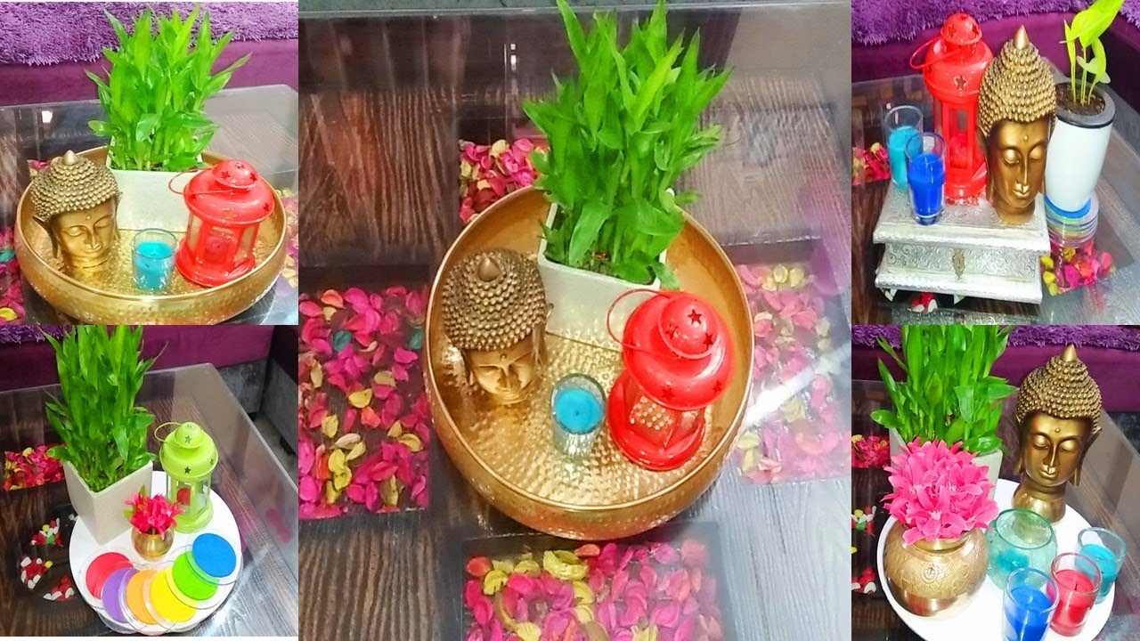How to decorate center table diwali decoration indian - Living room center table decoration ideas ...