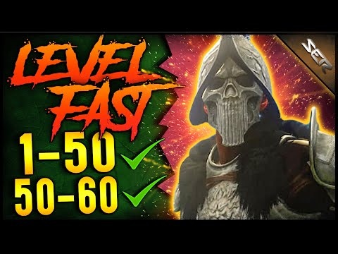 Fast Ways To Hit Max Level in Amazon's ❗NEW WORLD MMO (2020 Preview Event, Leveling Guide)