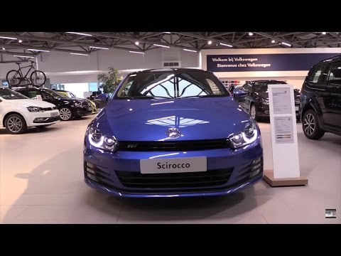 Volkswagen Scirocco 2016 In Depth Review Interior Exterior Youtube