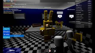 Death of the Purple Man in Roblox (PTE 1)