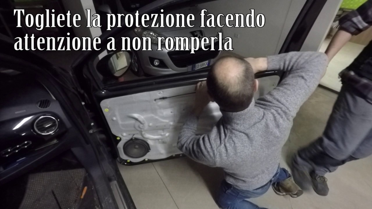 Sostituzione Maniglia Change Door Handle Fiat 500 07 Youtube