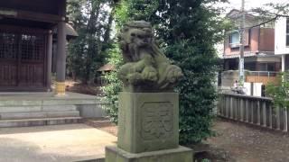給田六所神社---東京都世田谷区