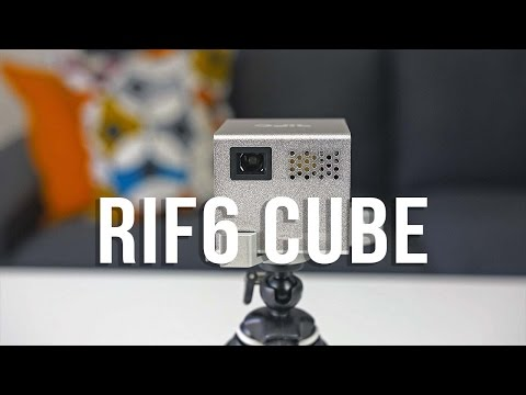 """RIF6 Cube Projector Review! A 120"""" Screen that Fits in Your Pocket!"""