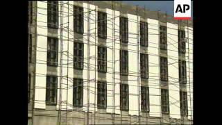 LEBANON: BEIRUT: INTERIOR MINISTER MURR VISITS TROUBLED PRISON (2)