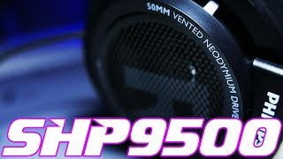 philips SHP9500 Headphone Review - How good are these 50 Cans?