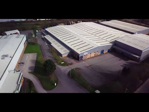 DJI Mavic Pro Flight#....AC029 New ROMO Fabrics factory & Industrial Estates 2018.