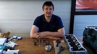 видео Шатуны, поршни, пальцы, кольца в Regiontehsnab.ru