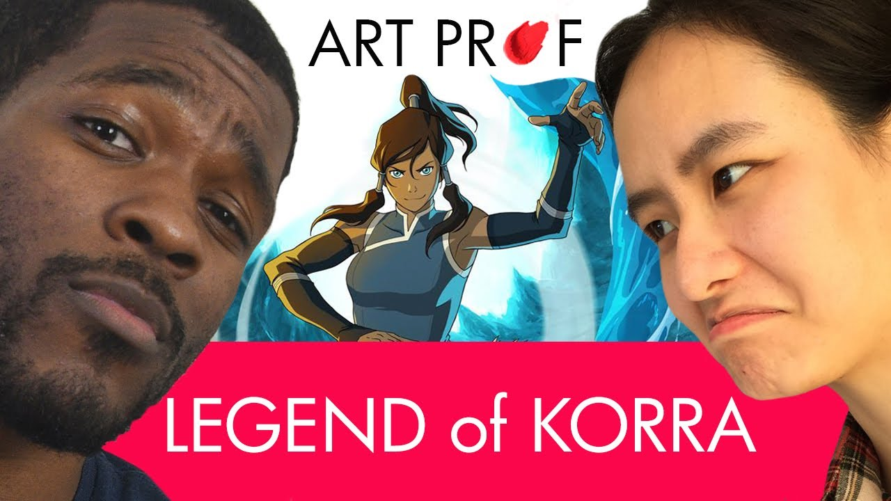 Art Professors FIGHT: Legend of Korra