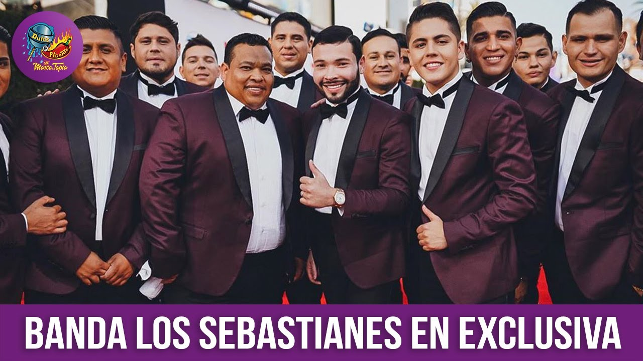Banda LOS SEBASTIANES 'La Vida en un Trago' en Exclusiva
