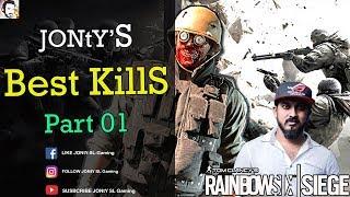 Jonty best kills | Rainbowsix siege Ranked | Part 01 | GTX 1070