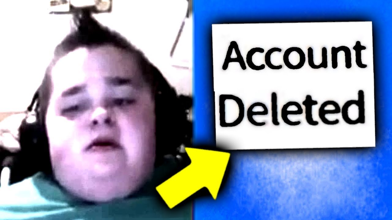 Kid Gets Banned Forever Breaks Computer Roblox Youtube