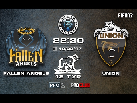 Fallen Angels - UNION | Pro Clubs | RLPC | 12 Matchday/14 Season