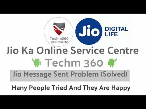 Jio Message Sent Failed (Solved)