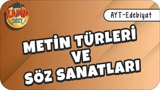 Metin Türleri ve Söz Sanatları   AYT Edebiyat Edebiyatik