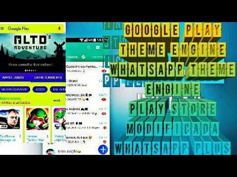 Xposed#5 - Google Play & Whatsapp Theme Engine (UWTE)