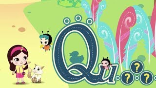 Olive and the Rhyme Rescue Crew Letter Q