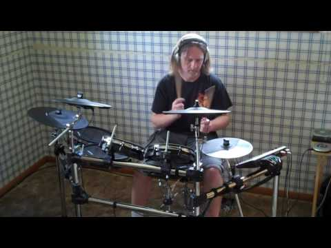 King Diamond-The Invisible Guest  (Drum Cover)