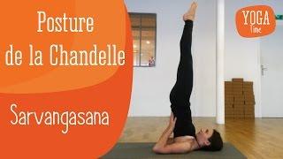 Yoga : Posture de la Chandelle – Sarvangasana