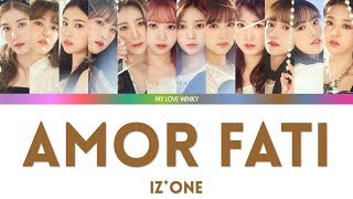 Izone amor fati lyrics all rights administered by the rightful owner.. i do not own music, photos and lyrics. no copyright infringement intended. this is...