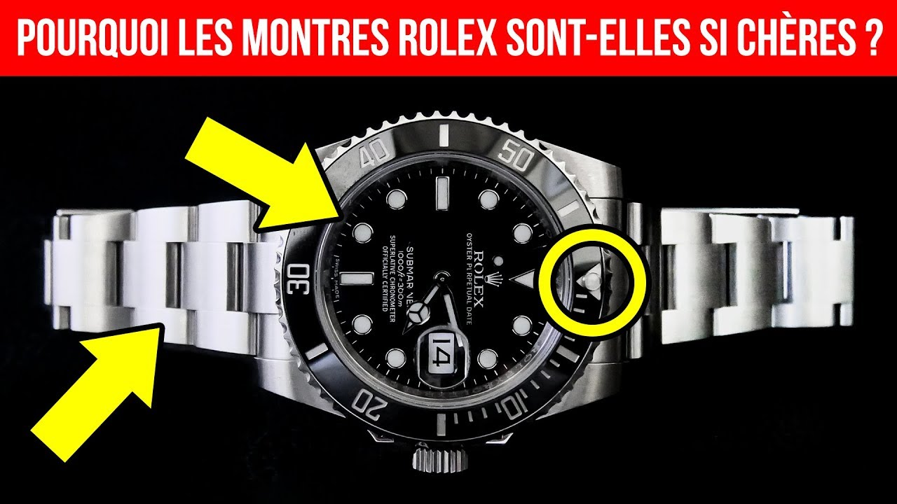 pourquoi les montres rolex sont elles si ch res youtube. Black Bedroom Furniture Sets. Home Design Ideas