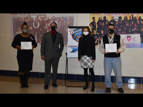 Knight Insurance Donation to Bowsher High School