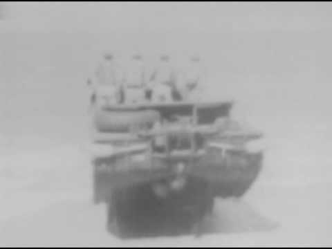 DUKW: THE SEA-GOING TRUCK, Reel 1 describes general features of the Dukw and shows drivers learn...