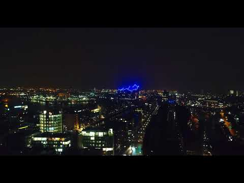 Hamburg at Night  - 4K
