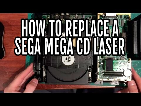 How to replace the laser in a Sega MegaCD model 1