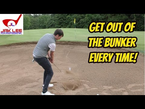 HOW TO GET OUT OF BUNKERS EASILY