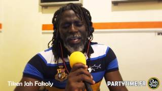 TIKEN JAH FAKOLY - Freestyle at PartyTime Radio Show - 30 MARS 2014