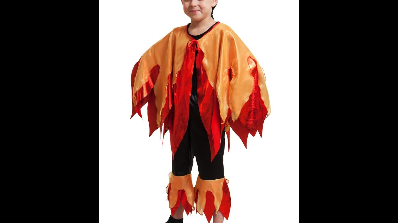 Как сделать костюм огня своими руками
