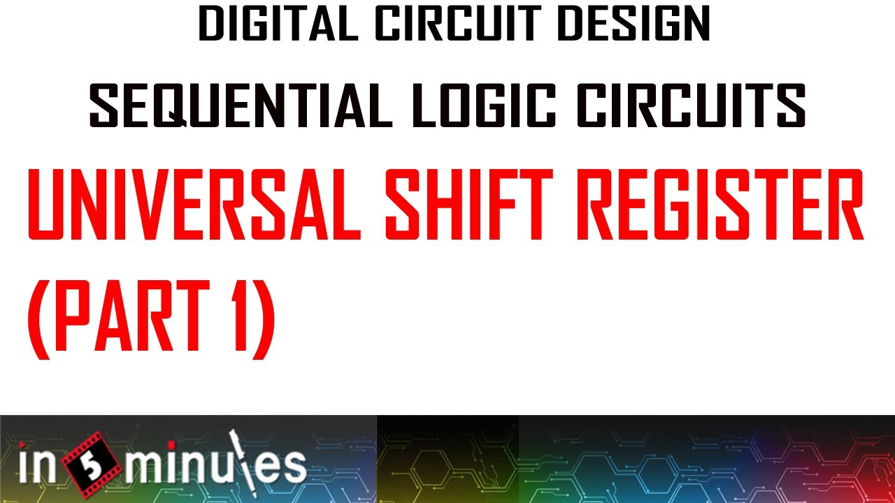 hight resolution of universal shift register part 1