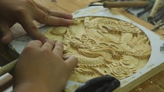 Traditional Craftsmanship Revived in China - Dongyang Woodcarving