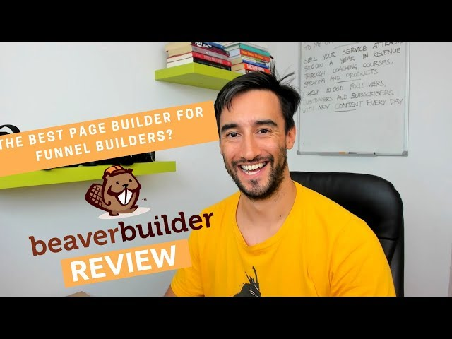 The best page builder for marketing funnels: #BeaverBuilder review
