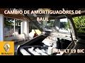 Cambio de Amortiguadores de Baúl - Renault 19