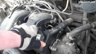 видео Проверка компрессии в цилиндрах ЗМЗ-409, прослушивание стуков и шумов