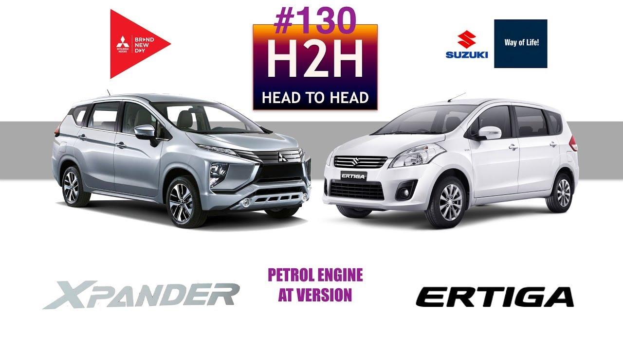 Xpander Vs Grand New Avanza List H2h 130 Mitsubishi Suzuki Ertiga Youtube